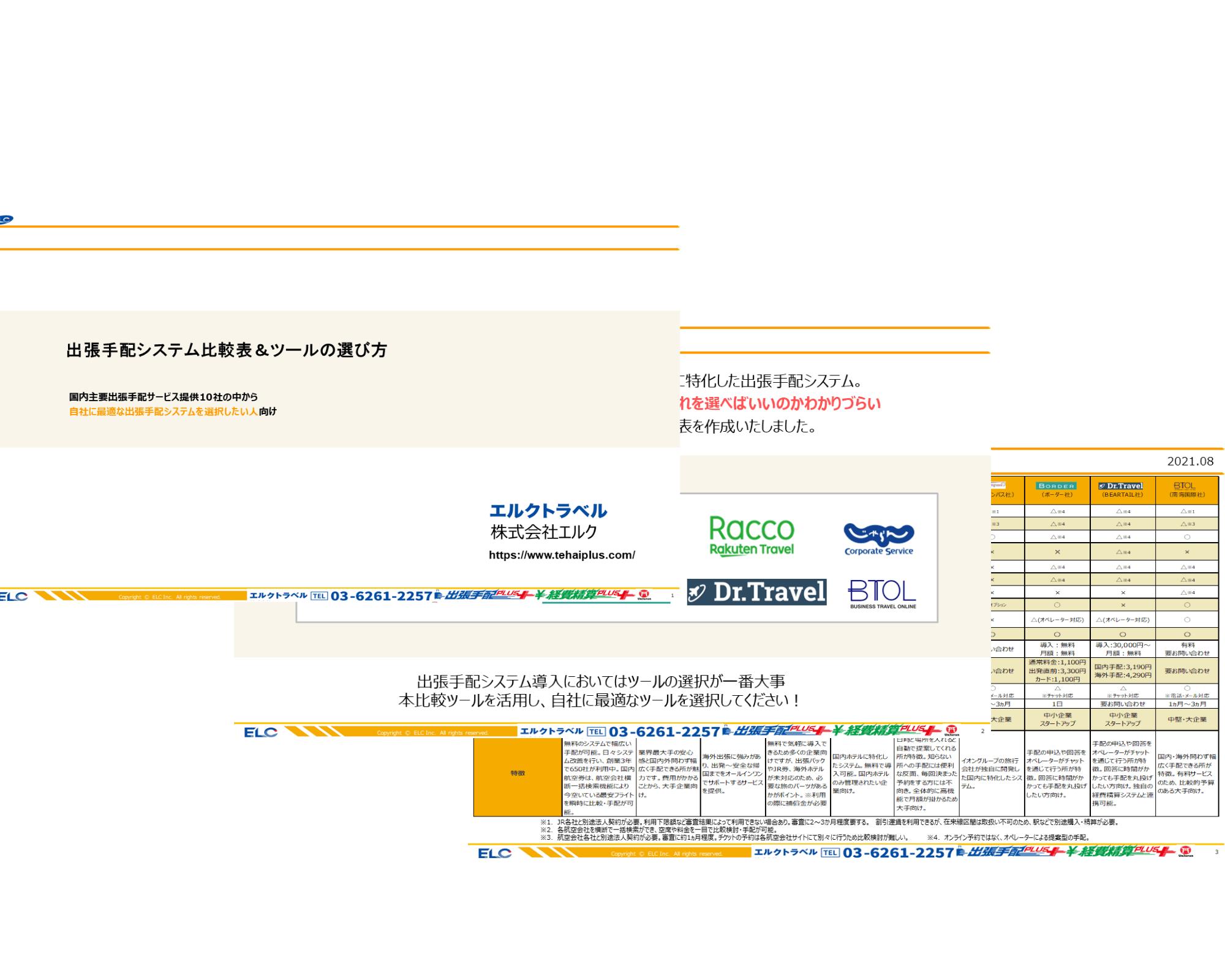 出張手配システム比較表&ツールの選び方 イメージ